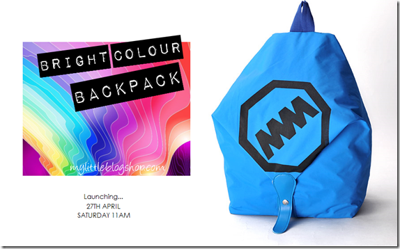 Bright Colour Backpack