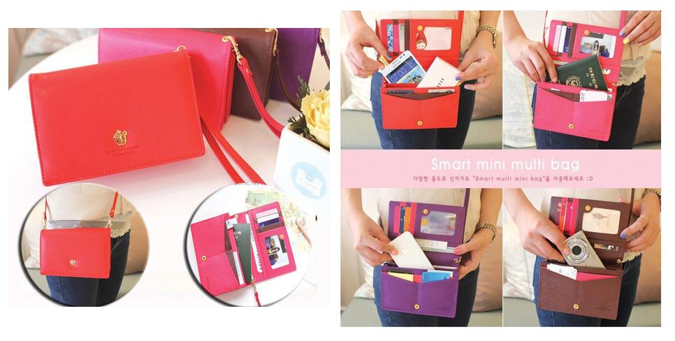 Wallet-Phone Sling Bag | MyLittleBlogShop Singapore