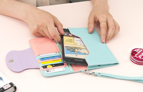 Wallet Phone Wristlet 7